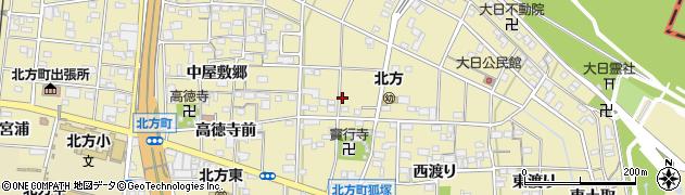 愛知県一宮市北方町北方(宝行寺廻り)周辺の地図