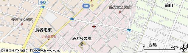 愛知県江南市慈光堂町周辺の地図