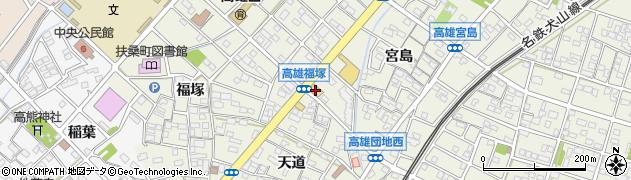 ガスト 扶桑店周辺の地図