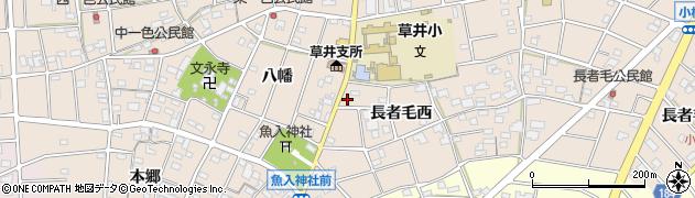 愛知県江南市小杁町周辺の地図