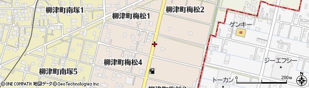 岐阜県岐阜市柳津町梅松周辺の地図