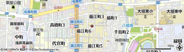 大師寺周辺の地図