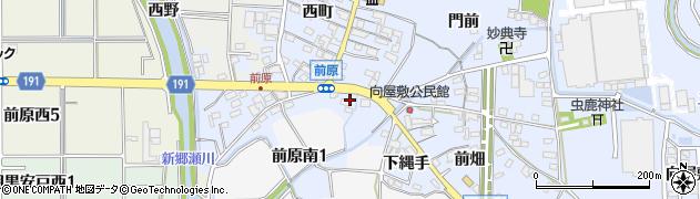 愛知県犬山市前原(北荒神洞)周辺の地図