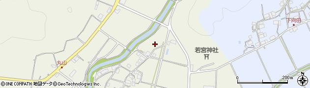 京都府綾部市志賀郷町(梅ケ嶋)周辺の地図