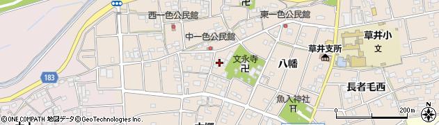 愛知県江南市小杁町(寺ノ内)周辺の地図
