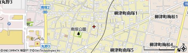 岐阜県岐阜市柳津町南塚周辺の地図