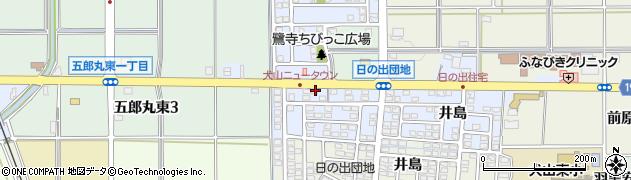 愛知県犬山市五郎丸(鷺寺)周辺の地図
