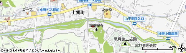 証菩提寺周辺の地図