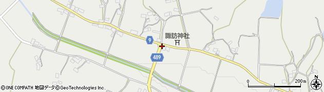 京都府綾部市西坂町(公庄畷)周辺の地図