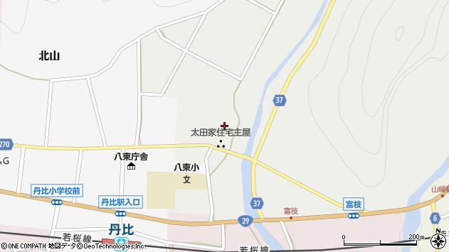 〒680-0611 鳥取県八頭郡八頭町富枝の地図