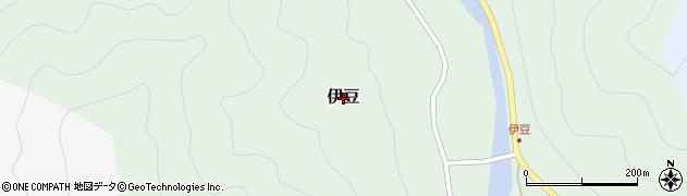 兵庫県養父市伊豆周辺の地図