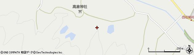 京都府綾部市西坂町(宮ノ奥)周辺の地図