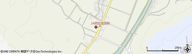 京都府綾部市志賀郷町(藪ノ下)周辺の地図