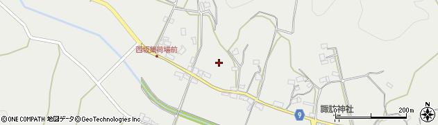 京都府綾部市西坂町(段ノ岡)周辺の地図