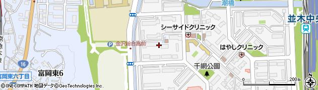 並木二丁目団地周辺の地図