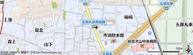 マウントエベレスト犬山店周辺の地図