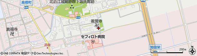 滋賀県長浜市下坂中町周辺の地図