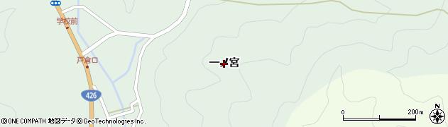 京都府福知山市一ノ宮周辺の地図