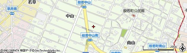 愛知県江南市般若町周辺の地図