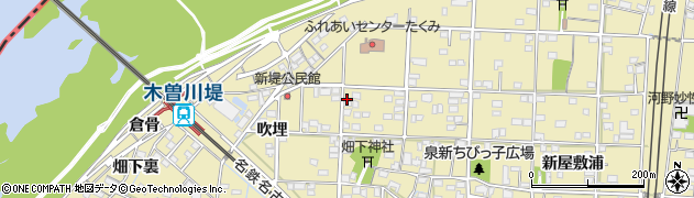 愛知県一宮市北方町北方(泉屋浦二)周辺の地図