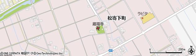 蔵福寺周辺の地図