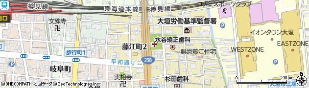禅桂寺周辺の地図