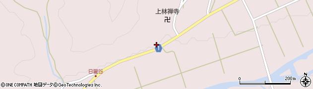 京都府綾部市八津合町(村中)周辺の地図