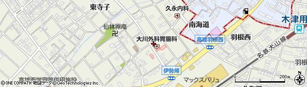 琉打周辺の地図