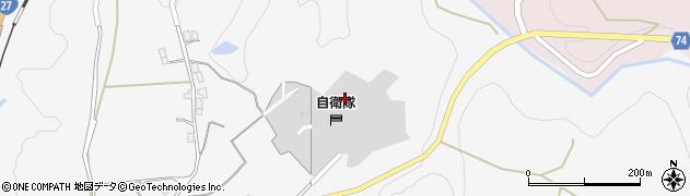 京都府綾部市上杉町(上雉路)周辺の地図
