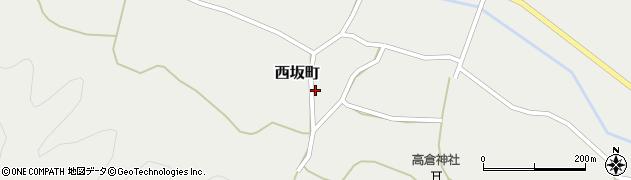 京都府綾部市西坂町(堂ノ岡)周辺の地図
