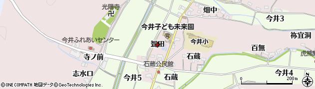 愛知県犬山市今井(聟田)周辺の地図