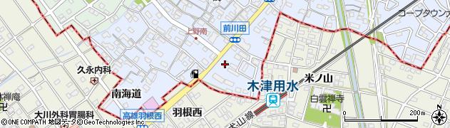 元祖台湾カレー周辺の地図