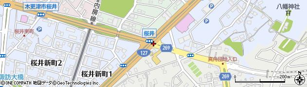 桜井周辺の地図
