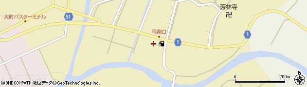 京都府綾部市五津合町(大田)周辺の地図