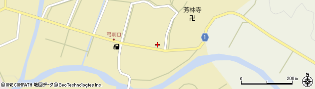 京都府綾部市五津合町(村前)周辺の地図
