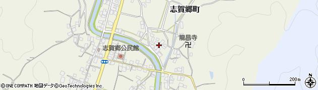 京都府綾部市志賀郷町(馬場)周辺の地図