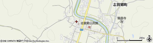 京都府綾部市志賀郷町(野上)周辺の地図