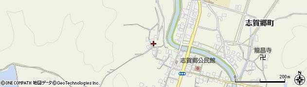 京都府綾部市志賀郷町(山ノ神)周辺の地図