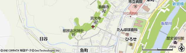 洞光寺周辺の地図