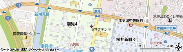 木更津合同タクシー株式会社 配車センター周辺の地図