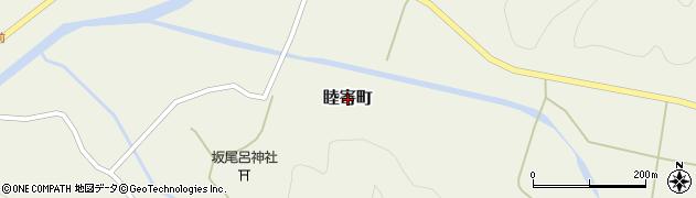 京都府綾部市睦寄町周辺の地図