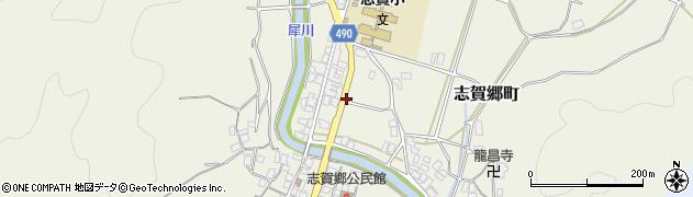 京都府綾部市志賀郷町(沖田)周辺の地図