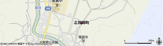 京都府綾部市志賀郷町周辺の地図