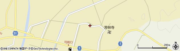 京都府綾部市五津合町(西地)周辺の地図