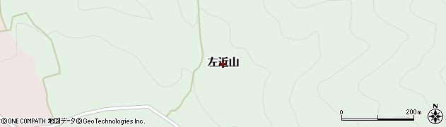 兵庫県養父市左近山周辺の地図
