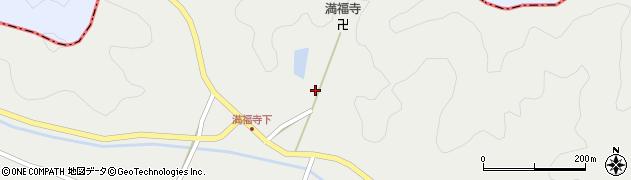 京都府綾部市西坂町(宮床)周辺の地図