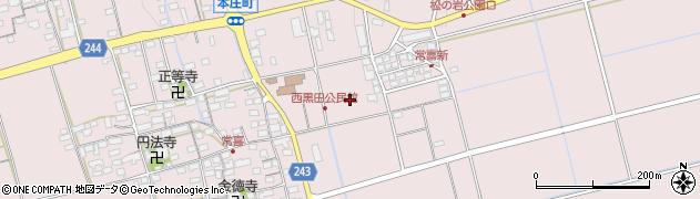 滋賀県長浜市常喜町周辺の地図