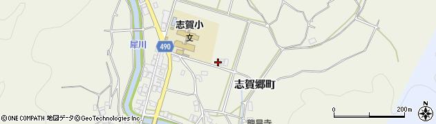 京都府綾部市志賀郷町(久保田)周辺の地図