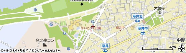 愛知県江南市草井町(西)周辺の地図