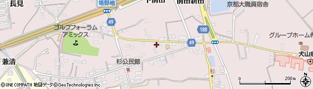 花のれん周辺の地図
